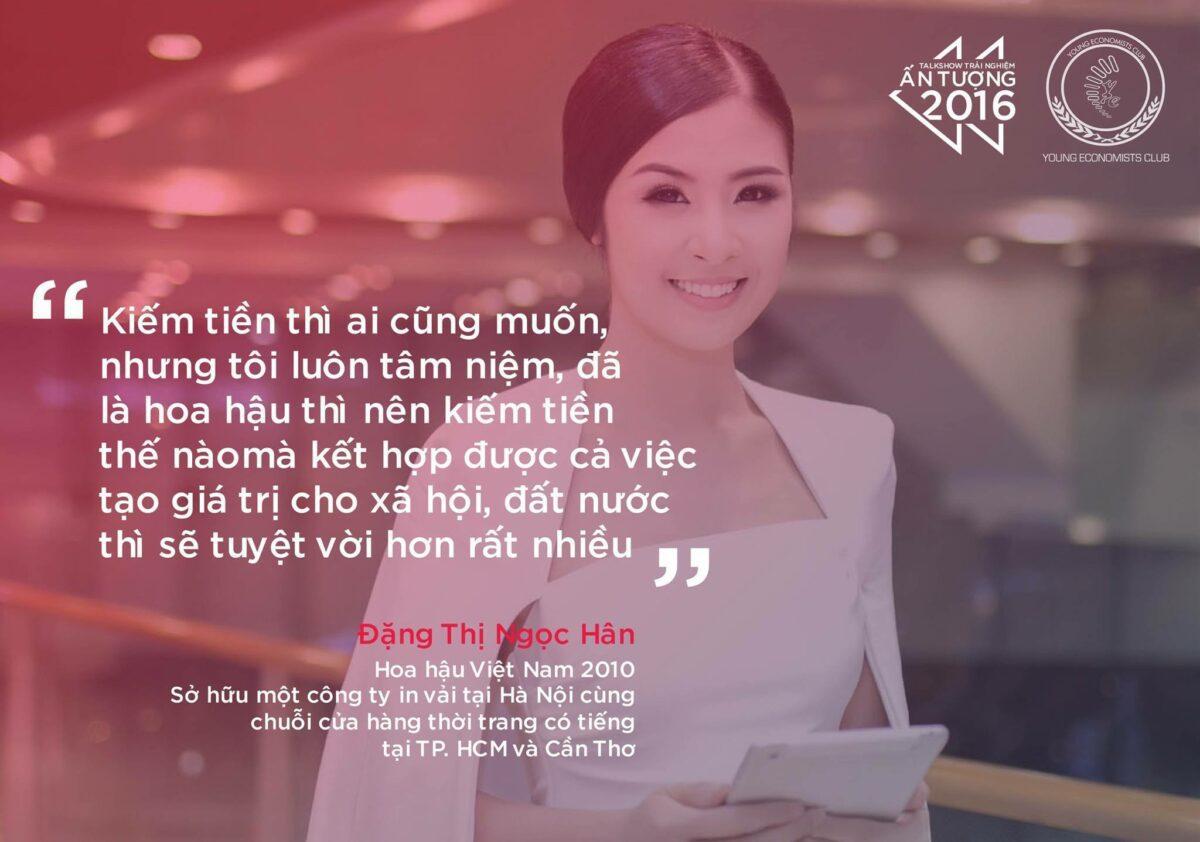 Hoa hậu Việt Nam 2010 - Đặng Thị Ngọc Hân.