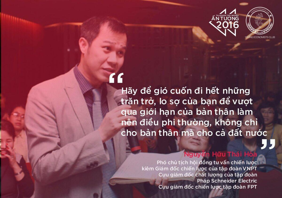 Phó chủ tịch hội đồng tư vấn chiến lược tập đoàn VNPT - Nguyễn Hữu Thái Hoà.