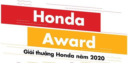 HONDA AWARD 2020