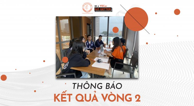 YEC 20TH RECRUITMENT: KẾT QUẢ VÒNG 2 – APTITUDE TEST