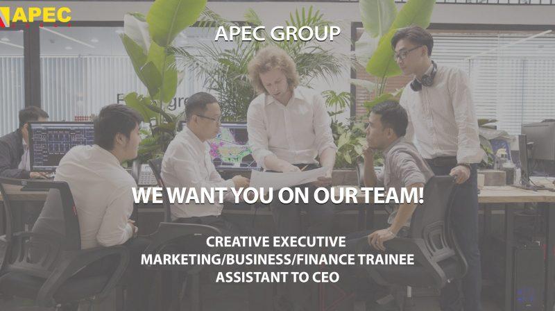 TỪ GIẢNG ĐƯỜNG ĐẾN CHIẾN TRƯỜNG CÙNG APEC GROUP